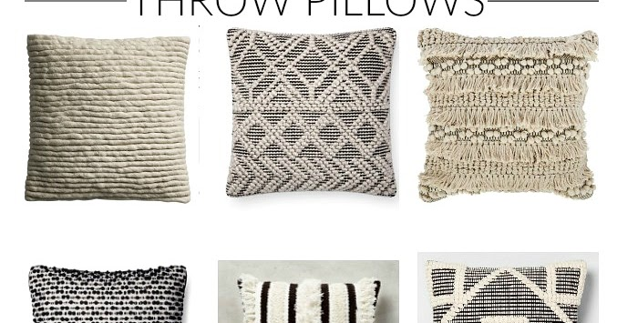 Friday Favorites The Best Textured Throw Pillows Little