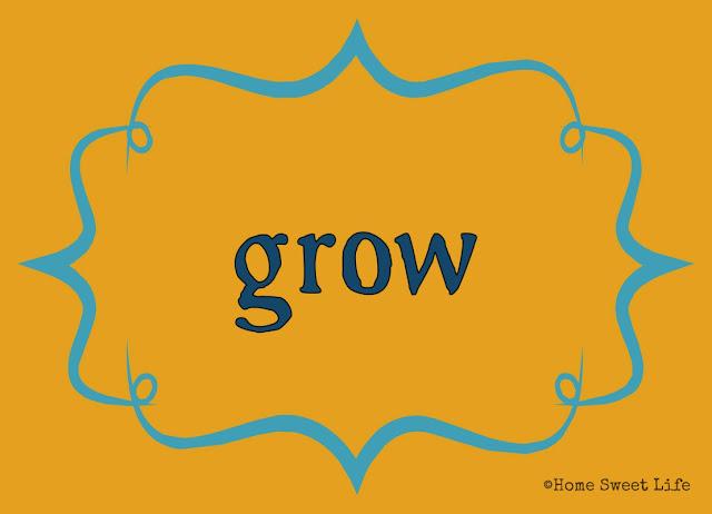 Christian living, 31 day writing challenge, grow