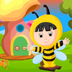 Play Games4King Cute Bee Girl Rescue