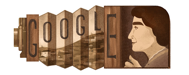 Karimeh Abbud's 123rd Birthday: Google Doodle