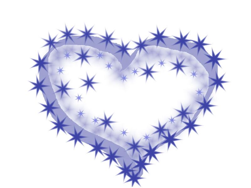 Un Corazón De Estrellas Corazones Inventados