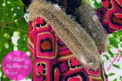 Chaqueta Alucinante de Tricot-Crochet Instrucciones