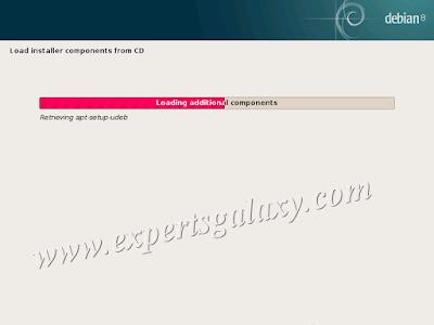 Debian Linux Loading Components