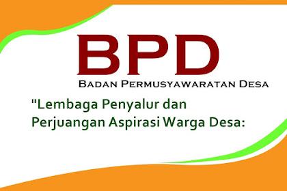 BPD Berkewajiban Mendorong Tata Kelola Pemerintahan Desa yang Baik
