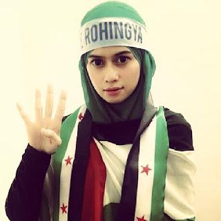 save rohingya,heliza helmi campaign,siapa bakal suami heliza helmi