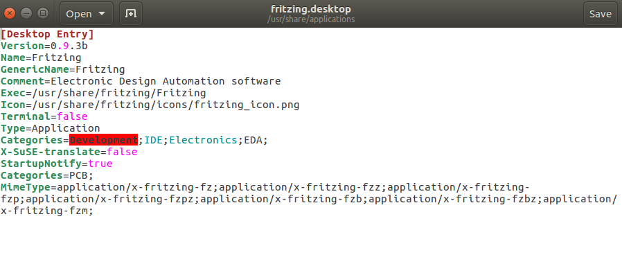 How to install program on Ubuntu: Install Fritzing 0 9 3b