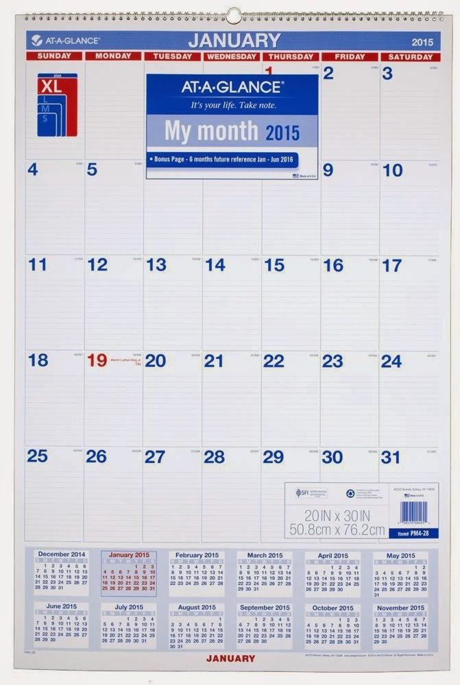 "Blank Printable Month At A Glance Calendar/page/2"" – Calendar 2015 ..."
