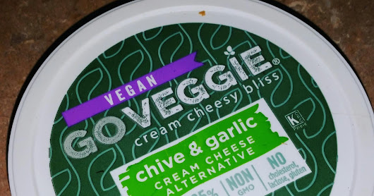 GoVeggie cream cheese- Product review and ways I used it!