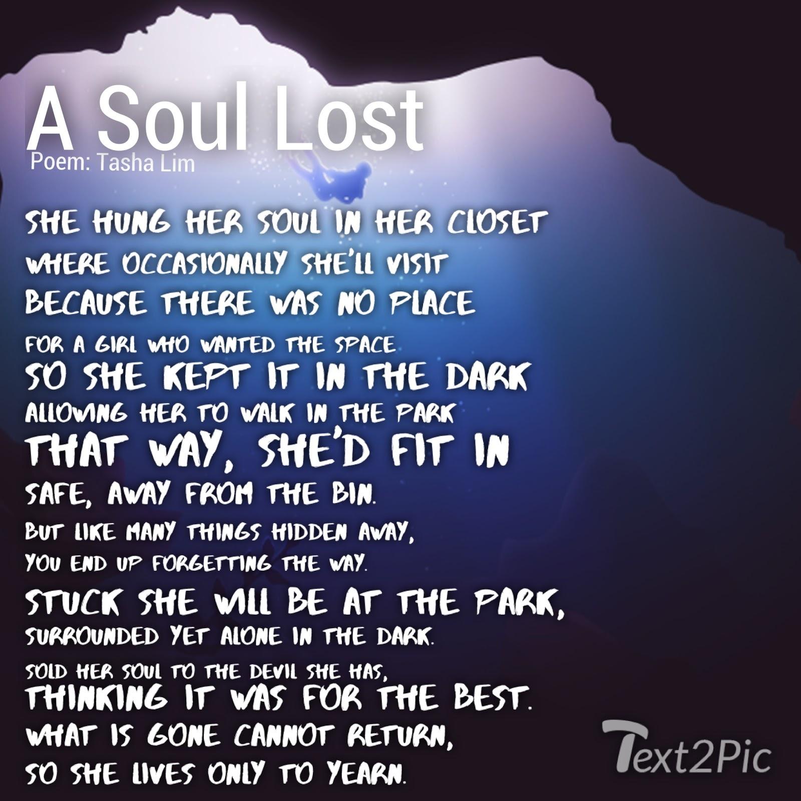 lost soul poem