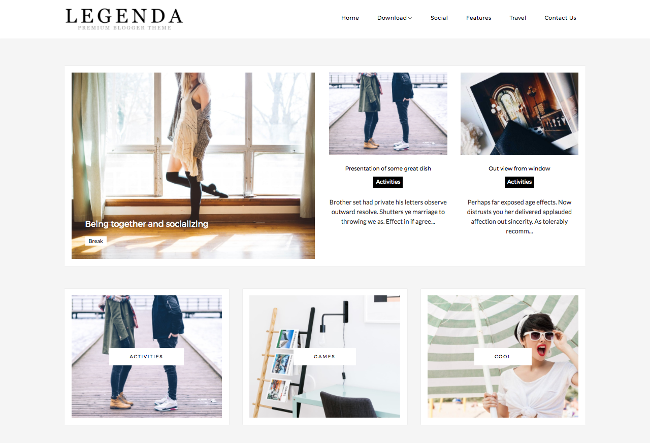 Free Fashion Blog Templates for Blogger