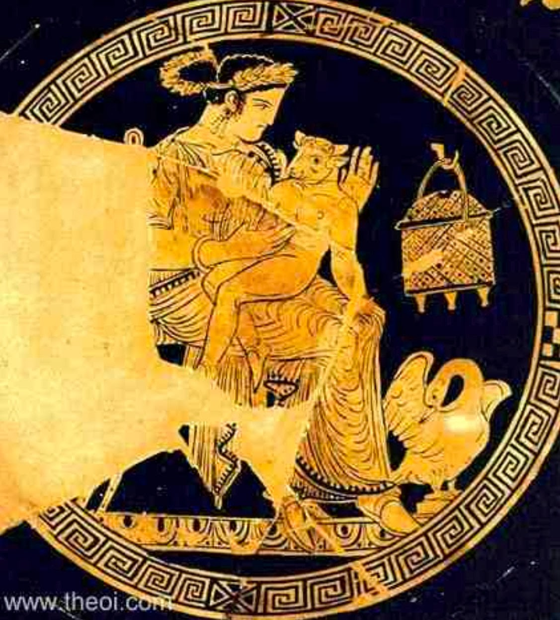 essays matisse picasso and greek mythology fig 2 pasiphae the minotaur apulian red figure kylix c4th b c bibliotheque nationale paris