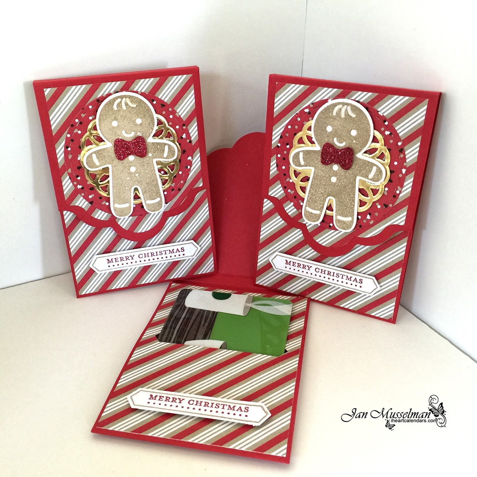 i♥Cards2: Cookie-Cutter Christmas Gift Card Holder