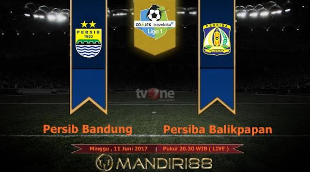 Prediksi Bola : Persib Bandung Vs Persiba Balikpapan , Minggu 11 Juni 2017 Pukul 20.30 WIB @ TVONE