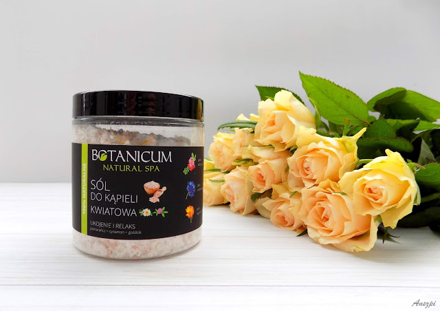 Kwiatowa sól do kąpieli Ukojenie i Relaks Botanicum