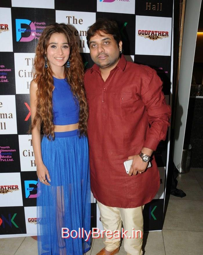 Sandeep Shukla, Sara Khan, Hot Pics of Sara Khan, Jesse Kaur At 'The Cinema Hall' Movie Launch
