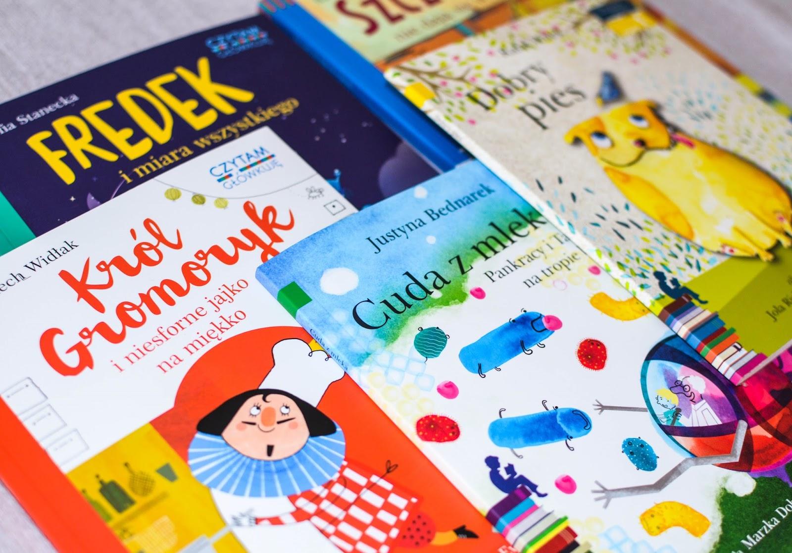 książki dla przedszkolaka, książki dla pięciolatka, łamigłówki dla dzieci, nauka czytania, książki dla uczniaka, Egmont, czytam sobie, czytam i główkuję