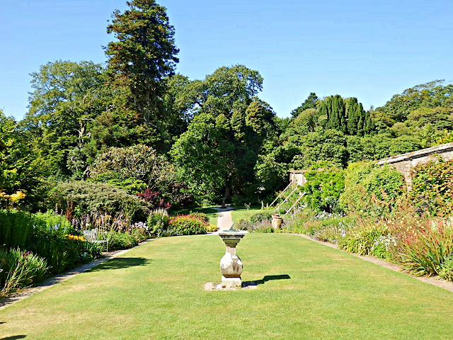 Sun Dial Garden at Lost Gardens of Heligan