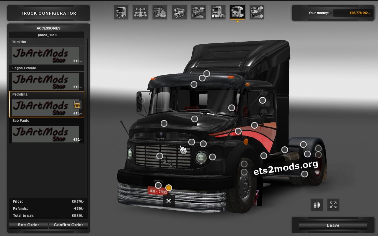 Truck - Mercedes Benz 1519 - 1525