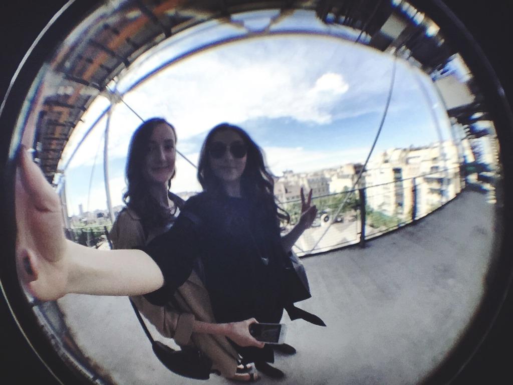 Pompidou Paris Fisheye