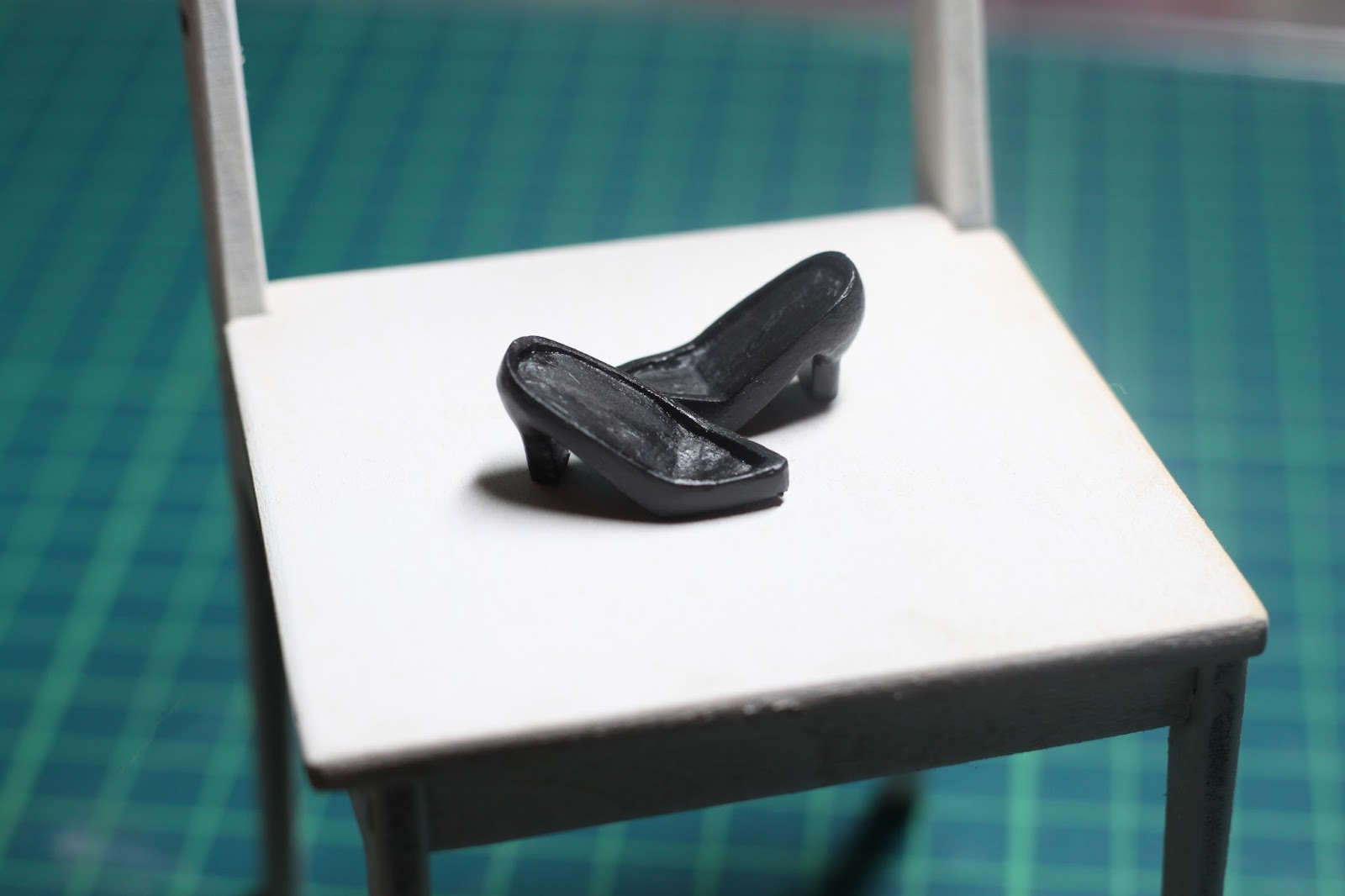 ドールサイズの靴底の作り方