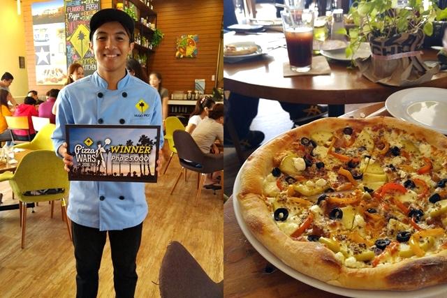 California Pizza Kitchen Pizza Wars Winner