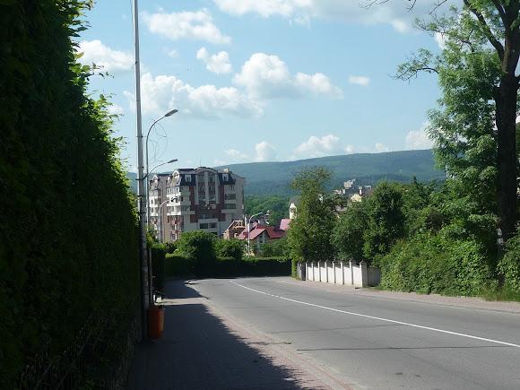 Трускавець. Вулиця Дрогобицька