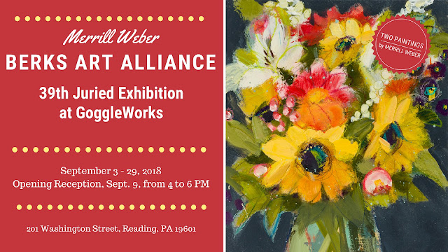 Merrill Weber 2018 Berks Art Alliance 39th Open Juried Exhibition at GoggleWorks