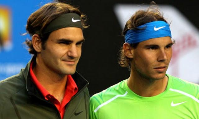 Roger Federer y Rafael Nadal, grandes rivalidades deportivas de la historia