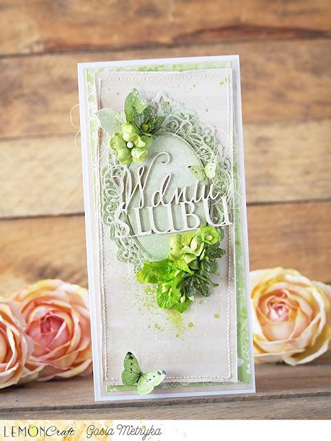 ślubna zieleń / wedding green