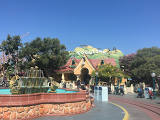 Mickey Mouse's house in Toontown at Disneyland