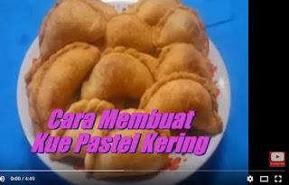 Cara Membuat Kue Pastel Kering Isi Abon Hidangan Rumahan Spesial Ramadhan