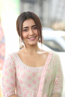 Raashi Khanna At Venky Mama Movie Success Meet HeyAndhra