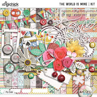 Kit : The World Is Mine by Akizo Designs