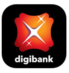 Logo Mobile Banking Digibank by DBS