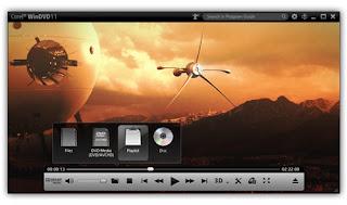 برنامج تشغيل جميع صيغ الفيديو والصوت Corel WinDVD Pro 11