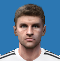 PES 6 Faces Thomas Müller by Alegor