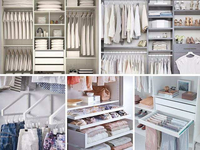 Organização de roupas