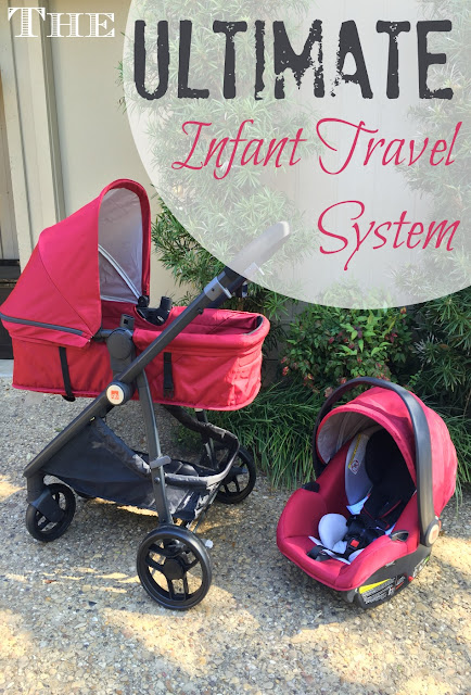 If you're registering for a new baby, check out this infant travel system! It's versatile, lightweight, safe and stylish