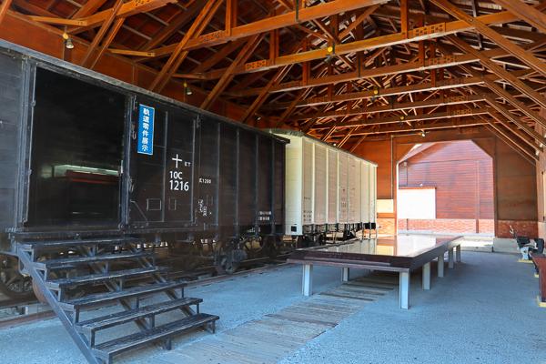 車埕火車站遊客中心、貯木池、木業展示館,集集支線戀戀鐵道