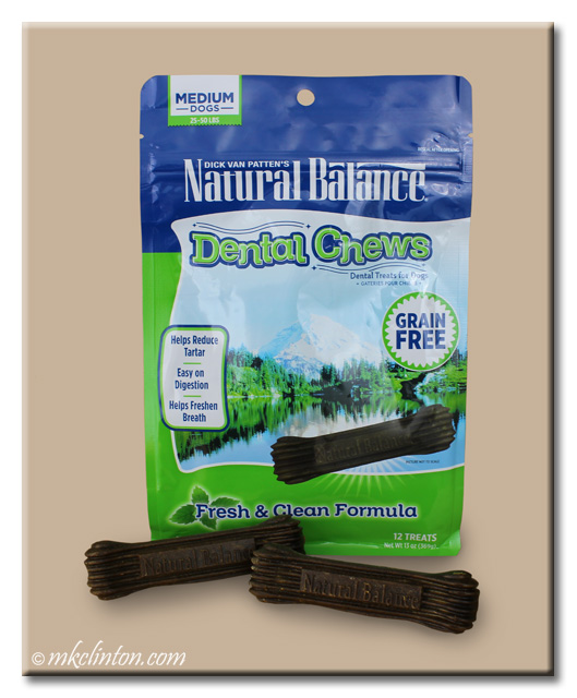Bag of Natural Balance Dental Chews
