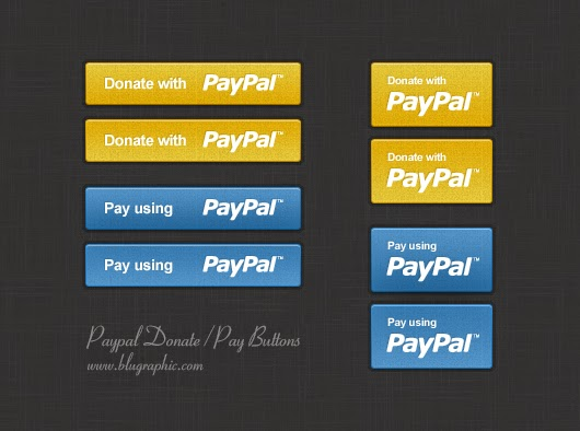 Paypal Donation & Payment Buttons