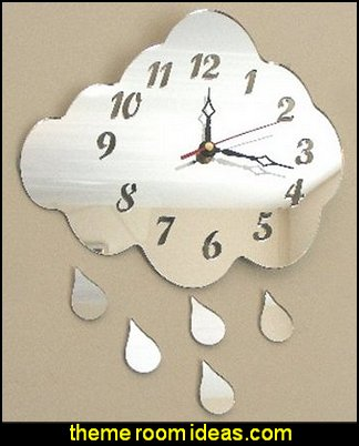 clouds wall decorations rain theme bedroom decorations