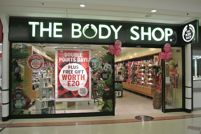 The Body Shop in The Bridges Sunderland Christmas Gifts 2016