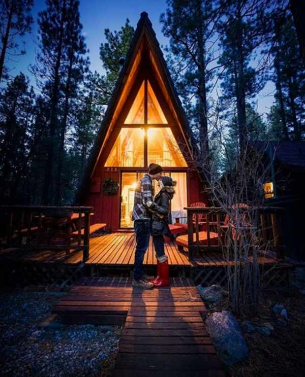 2. Spend the weekend in a tiny house in the heart of the forest