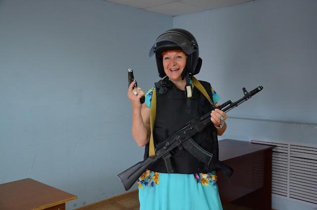 Вооружена и очень опасна