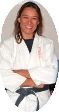 AnnMaria in judo gi