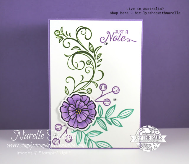 Create embossing in any colour by using the Stamparatus - see this amazing tool here - http://bit.ly/StamparatusProducts