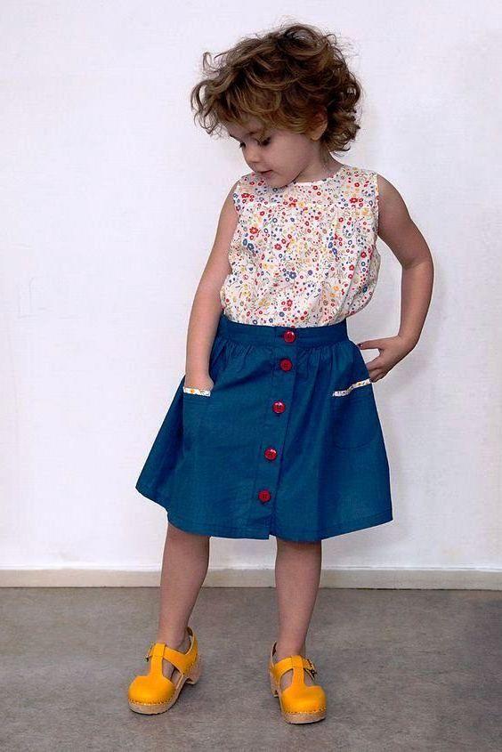 Model Baju Batik Anak Perempuan Lucu Modern