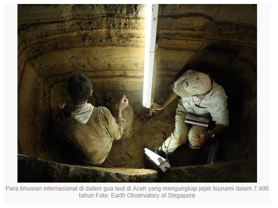penelitian gua laut di aceh