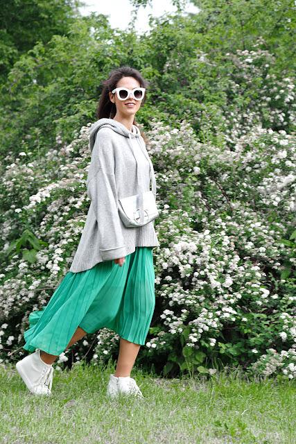 юбка плиссе, юбка гофре, плиссерованная юбка